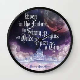 Cinder - Once Upon a Time Wall Clock