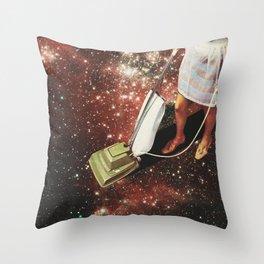 Star-dust - Vacuum cleaner Throw Pillow