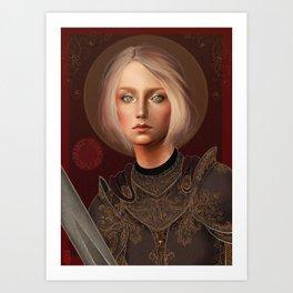 St. Joan of Arc Art Print