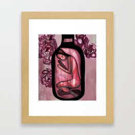Rosé Framed Art Print