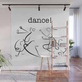 wisdom in dancing! Wall Mural