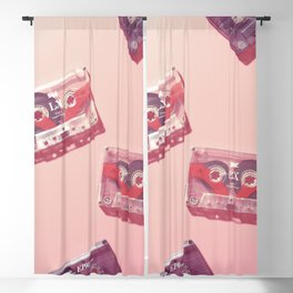 Cassettes in pink Blackout Curtain