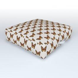 Monarch Butterfly Pattern | Vintage Butterfly Pattern | Outdoor Floor Cushion