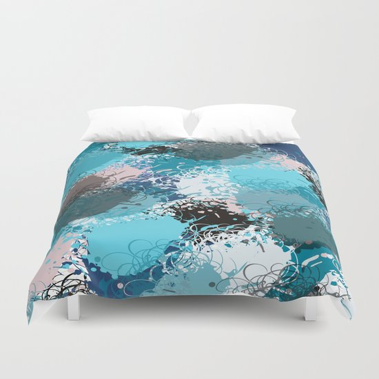 Abstract pattern 68 Duvet Cover