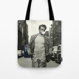 Time Traveler & Bubble Gum Tote Bag