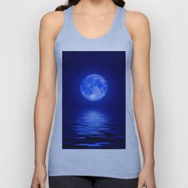 Blue Night Unisex Tank Top