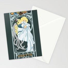 Odette Nouveau - Swan Princess Stationery Cards