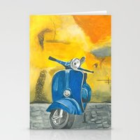 vespa Stationery Cards featuring Vespa by 83 Oranges™
