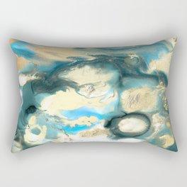 Golden Reef Rectangular Pillow