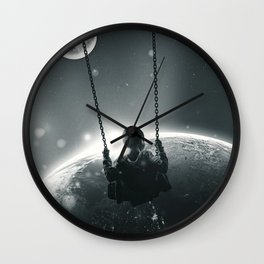 Back and Forth Wall Clock