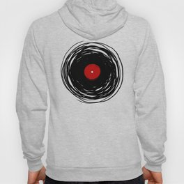 Spinning within with a vinyl record... Hoody