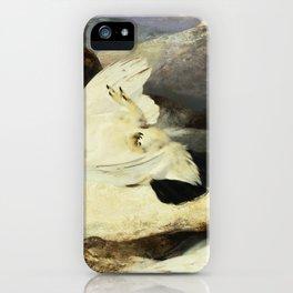 Ptarmigan in a Landscape - Digital Remastered Edition iPhone Case