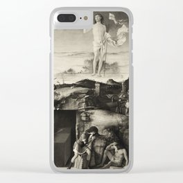 The Ascension. Bellini. Clear iPhone Case