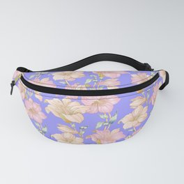 tropical pastels Fanny Pack