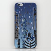 divergent iPhone & iPod Skins featuring Divergent by Melissa Woodall