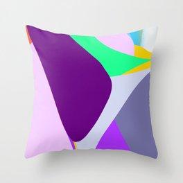 Shoulder for cat #2 Throw Pillow