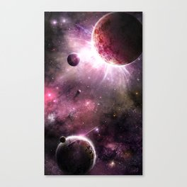 Spacescape 10 Canvas Print