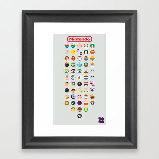 Mintendo Framed Art Print
