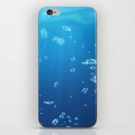 water bubble 2 iPhone Skin