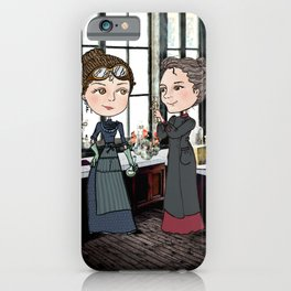 Woman in Science: The Curies iPhone Case