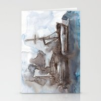 boats Stationery Cards featuring Boats by Marine Koprivnjak