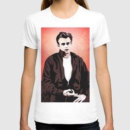 James Rebel Dean - Pop Art T-shirt