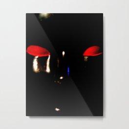 Alien Head Metal Print