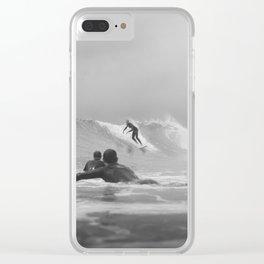 Australia Surf Clear iPhone Case
