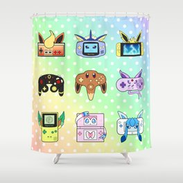 Evolution Games Shower Curtain