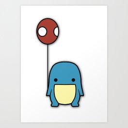 Balloon Quaggan Case Art Print