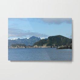 Scenic view in Kenai Fjords National Park Metal Print