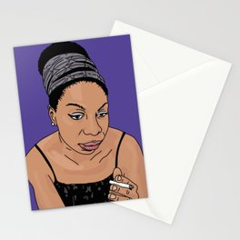 Nina Simone - 2 Stationery Cards