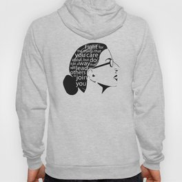Fight For The Things You Care About RBG Hoody