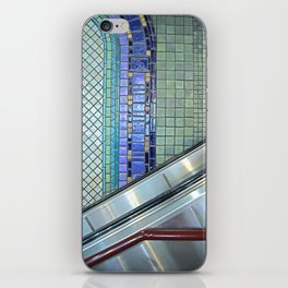 Detroit People Mover Art Cadillac Center iPhone Skin