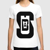 subway T-shirts featuring Subway by David Short