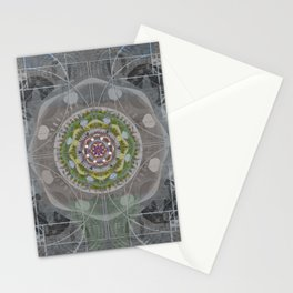 Cosmic Eye of Inner Vision towards the Human Heart Stationery Cards