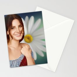 La-na del rey Music Silk Poster Stationery Cards