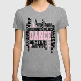 Dancer Word Art T-shirt