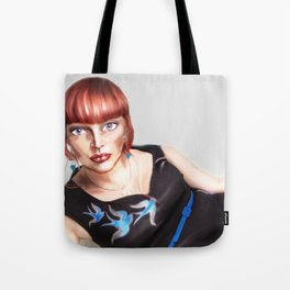 In the Style of... Fancesco Clemente - 2013 Tote Bag