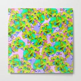 Flowers 2 - Pink Metal Print