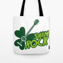 St. Patrick's Day Shamrocks Funny Tote Bag