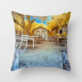 Trancoso Little Houses Throw Pillow