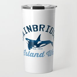 Bainbridge Island - Washington Sate. Travel Mug