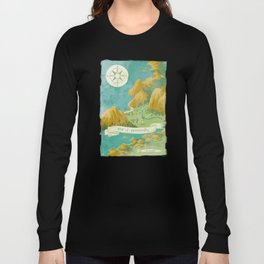 Moominvalley Map Interpretation (1/3) Long Sleeve T-shirt