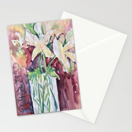 Wild Flowers in Color, Watercolors Stationery Cards