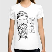 beard T-shirts featuring Beard by The Last Universe