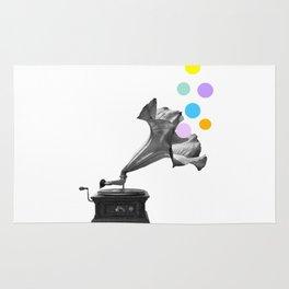 Gramoflower (gramophone) Rug