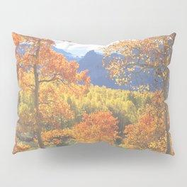 Aspen in the Uncompahgre Range, Colorado Pillow Sham
