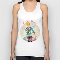 le petit prince Tank Tops featuring The little Prince- Le Petit Prince by Colorful Simone