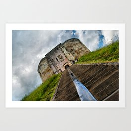 York Castle Art Print